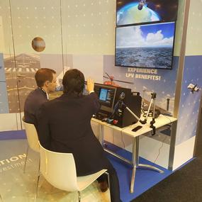 Flight simulator at the World ATM Congress 2017