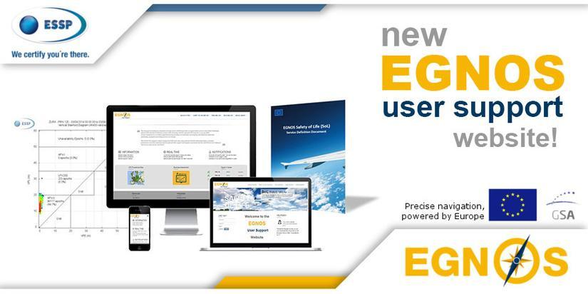 New EGNOS user support website
