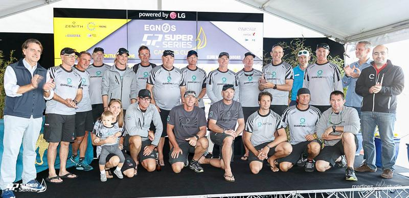 EGNOS 52 SUPER SERIES Cascais Cup award