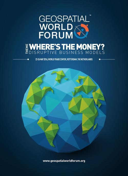 Geospatial World Forum 2016 Brochure Cover