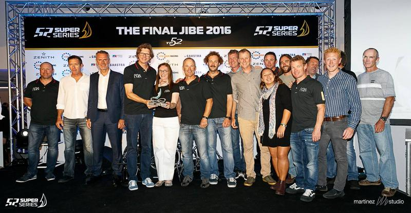 EGNOS 52 SUPER SERIES Cascais Cup won by Azzurra team