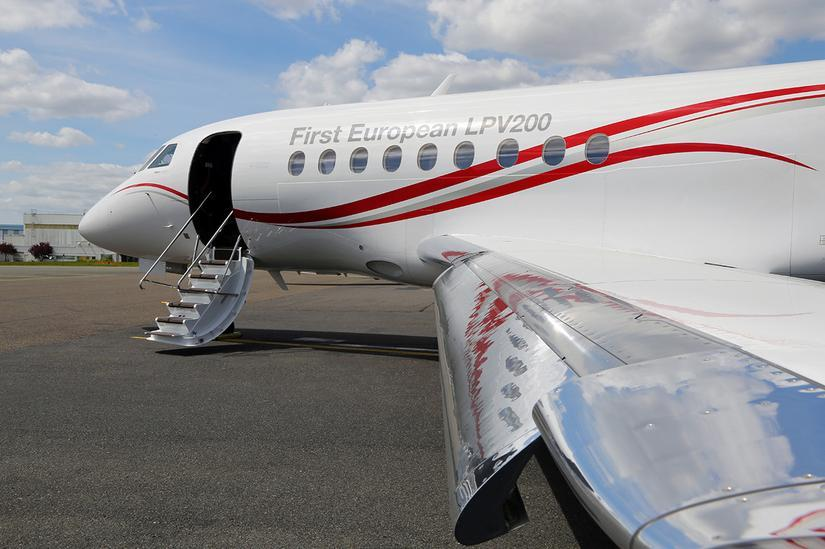 First European LPV200 by Dassault Falcon